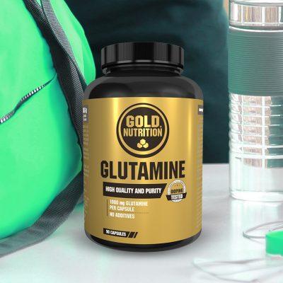 Glutamine Capsules GoldNutrition