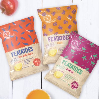 Peatatoes Pea Chips GoldNutrition