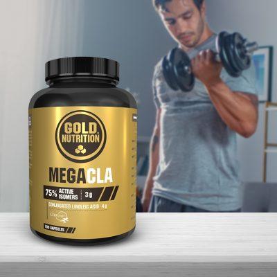 Mega CLA GoldNutrition Mobilização de gordura