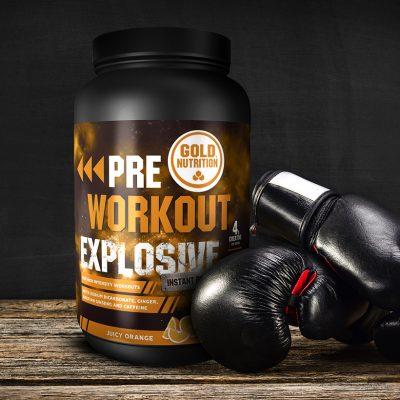 Pre-Workout Explosive Laranja